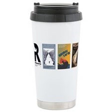 Unique Rhinoceros Travel Mug