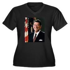 Ronald Reagan Plus Size T-Shirt