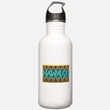HAWAII TIKI TEAL Water Bottle