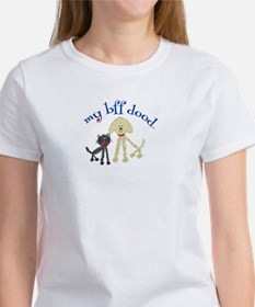 Best Friends Cat DoodleDog Women's T-Shirt