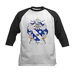 Ros Family Crest Kids Baseball Jersey