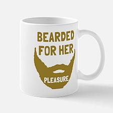 Bearded for her pleasure Mug