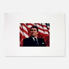 Ronald Reagan 5'x7'Area Rug