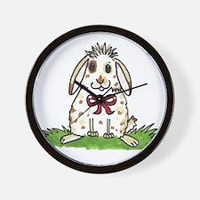 Chubby bunny Milly Wall Clock