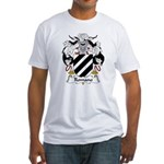 Romano Family Crest Fitted T-Shirt