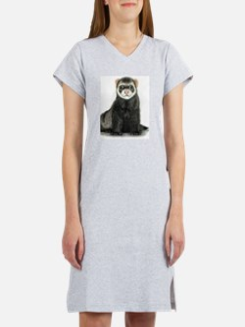 Unique Ferret Women's Nightshirt