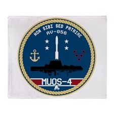 MUOS-4 Throw Blanket