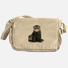 High detail ferret design Messenger Bag