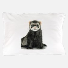 High detail ferret design Pillow Case