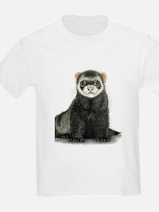High detail ferret design T-Shirt