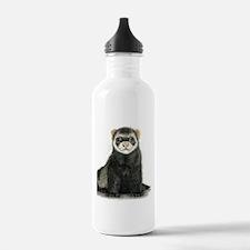 High detail ferret des Water Bottle