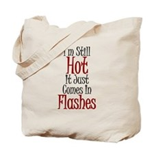 Hot Flashes Tote Bag