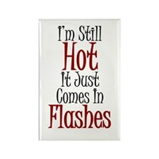 Hot Flashes Rectangle Magnet (100 pack)