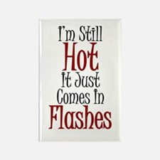Hot Flashes Rectangle Magnet