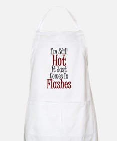 Hot Flashes BBQ Apron