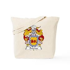 Rodrigo Family Crest Tote Bag