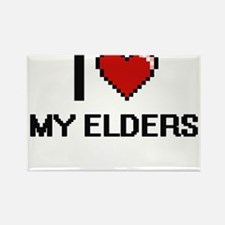 I love My Elders Magnets