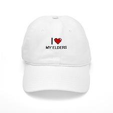 I love My Elders Baseball Cap