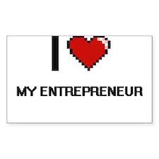 I love My Entrepreneur Decal