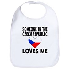 Someone In The Czech Republic Loves Me Bib