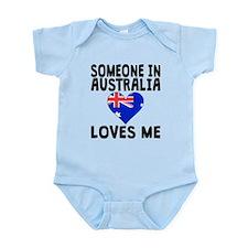 Someone In Australia Loves Me Body Suit