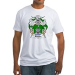 Rivero Family Crest Fitted T-Shirt