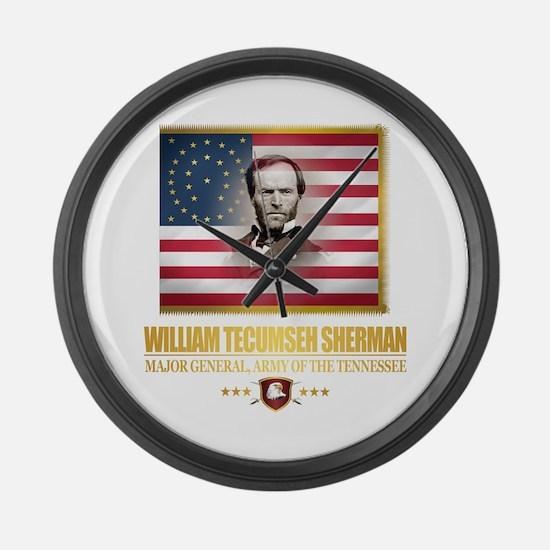 Sherman (C2) Large Wall Clock