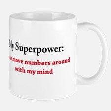 Numbers are my Superpower Mugs