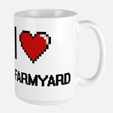 I Love My Farmyard Mugs