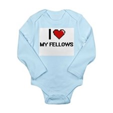 I Love My Fellows Body Suit