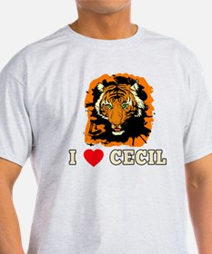 I LOVE CECIL THE LION T-Shirt