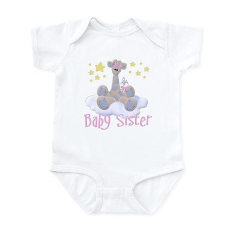 Baby Sister Giraffe Infant Bodysuit