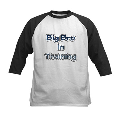 Big Bro in Training Kids Baseball Jersey