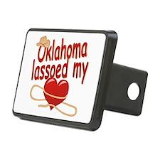 Oklahoma Lassoed My Heart Hitch Cover