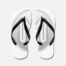 M Golf Ball - Monogram Golf Ball - Mono Flip Flops
