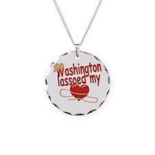 Washington Lassoed My Heart Necklace