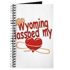 Wyoming Lassoed My Heart Journal