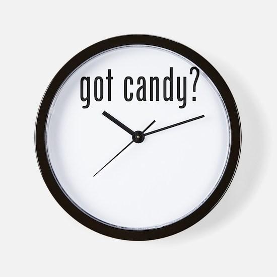 got candy Wall Clock