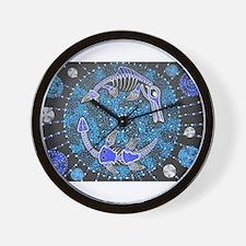 Jurassic Seas Wall Clock
