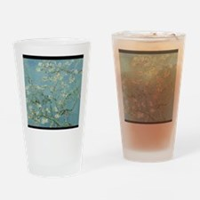 Funny Almond blossom Drinking Glass