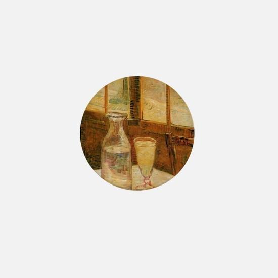 Cool Absinthe art Mini Button