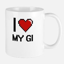 I Love My Gi Mugs