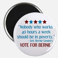 Bernie Sanders 2016 Quote Magnets