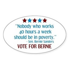 Bernie Sanders 2016 Quote Decal