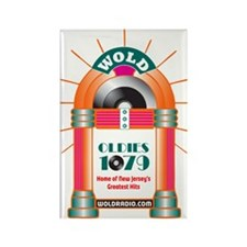 Oldies 1079 Rectangle Magnets