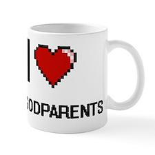 I Love My Godparents Mug