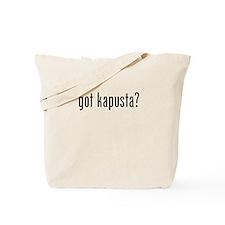 got kapusta Tote Bag