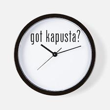 got kapusta Wall Clock