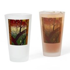 Funny Plums Drinking Glass