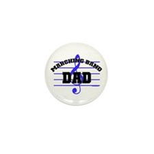 Marching Band Dad Mini Button (10 pack)